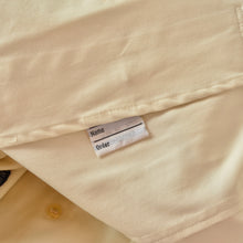 Load image into Gallery viewer, Vintage Burberry Mac Coat Size 48 Long - Cream