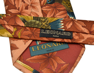 Leonard Paris Japanese Watercolor Tie - Birds