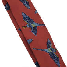 Load image into Gallery viewer, Classic Silk Braces/Suspenders - Pheasant Print