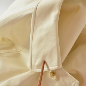 Vintage Burberry Mac Coat Size 48 Long - Cream