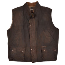 Load image into Gallery viewer, Driza Bone Waxed Vest/Gilet Size L - Brown