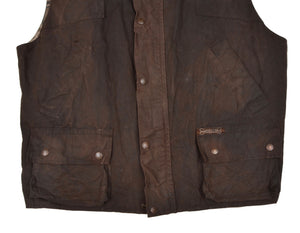 Driza Bone Waxed Vest/Gilet Size L - Brown