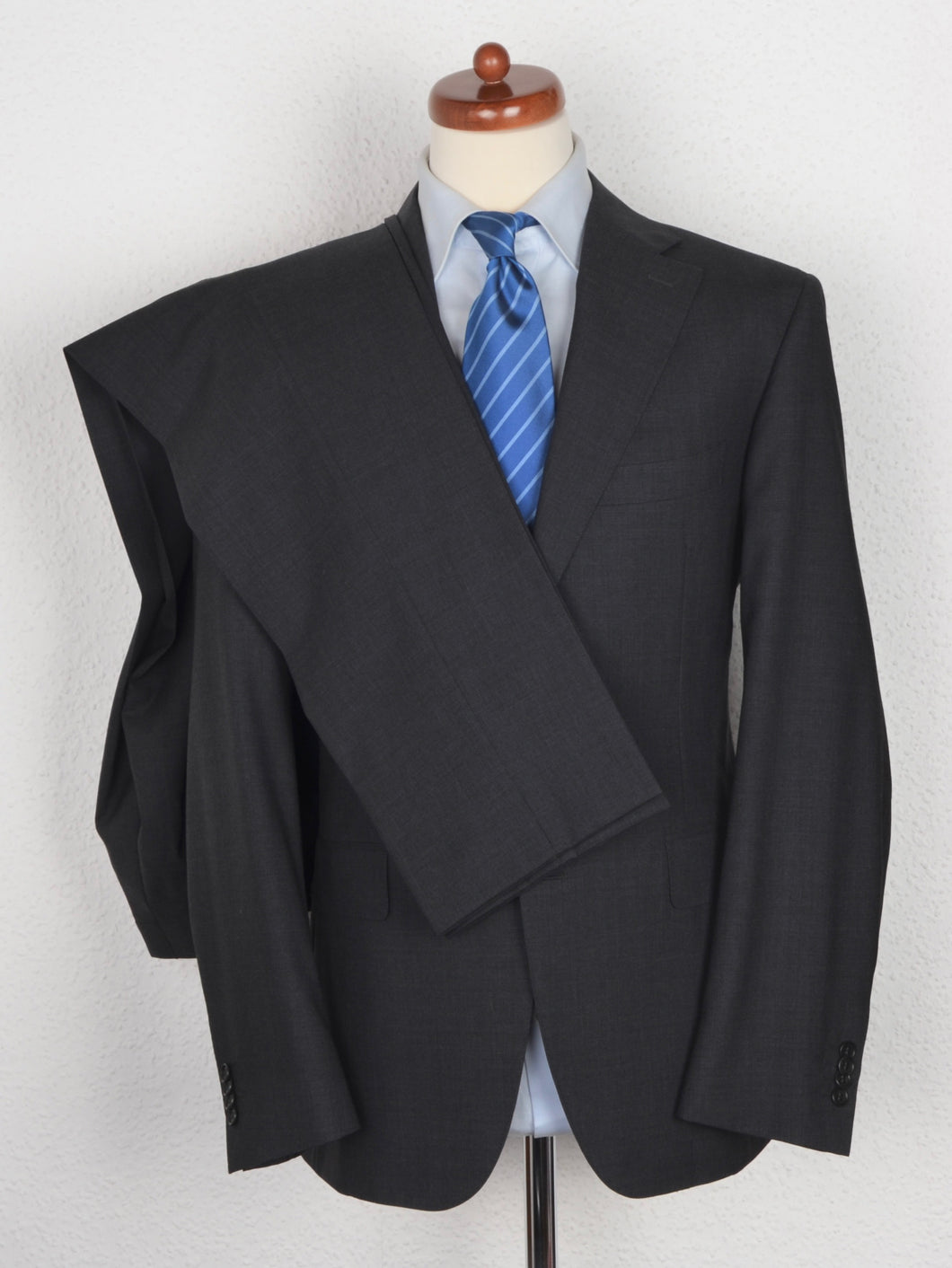 Canali 1934 Wool Suit Size 52 - Grey