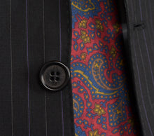Load image into Gallery viewer, Paul Smith Pinstriped Suit Size 36 - Black