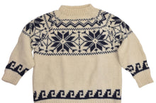 Load image into Gallery viewer, Thick Wool Snowflake Sweater Size L