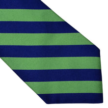 Load image into Gallery viewer, Polo Ralph Lauren Striped Silk Tie - Blue & Green