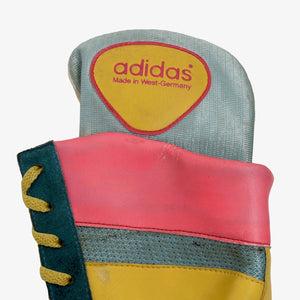 Vintage Adidas Attack Boxing Shoes Size 9.5 - Teal/Pink