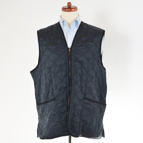 Barbour Polar Quilts Vest Size XL - Navy