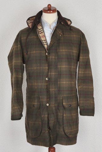 Antartex Waxed Jacket - Plaid