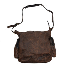 Load image into Gallery viewer, Jean Weipert Traveller Set of 2 Leather Bags - Brown