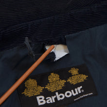 Load image into Gallery viewer, Barbour Lightweight Contemporary Beaufort Waxed Jacket Size L - Blue