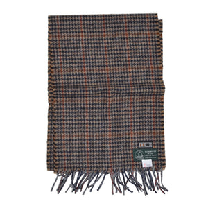 DAKS Manx Tweed Scarf - Plaid