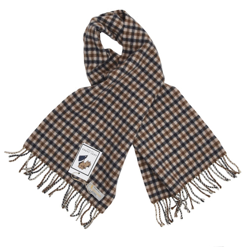 Aquascutum Lambswool Scarf - House Check