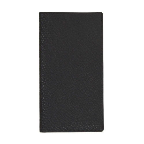 F. Schulz Wien Leather Travel Wallet - Black
