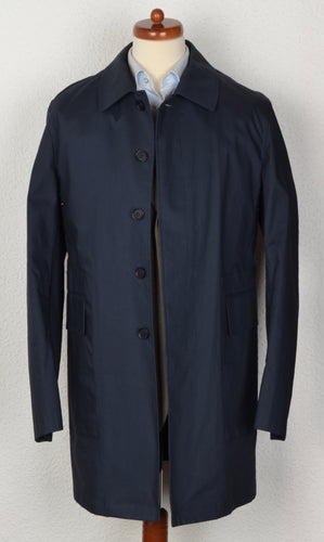 Gutteridge Mac Trench Coat Size 54 - Navy