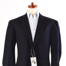 Load image into Gallery viewer, Ermenegildo Zegna Trofeo Wool Jacket Size 56 - Navy Blue