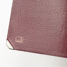 Load image into Gallery viewer, Valextra Milano Double-Sided Wallet with Clips - Burgundy