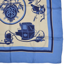 Load image into Gallery viewer, Hermès Paris Ex Libris Hugo Grygkar Silk Scarf
