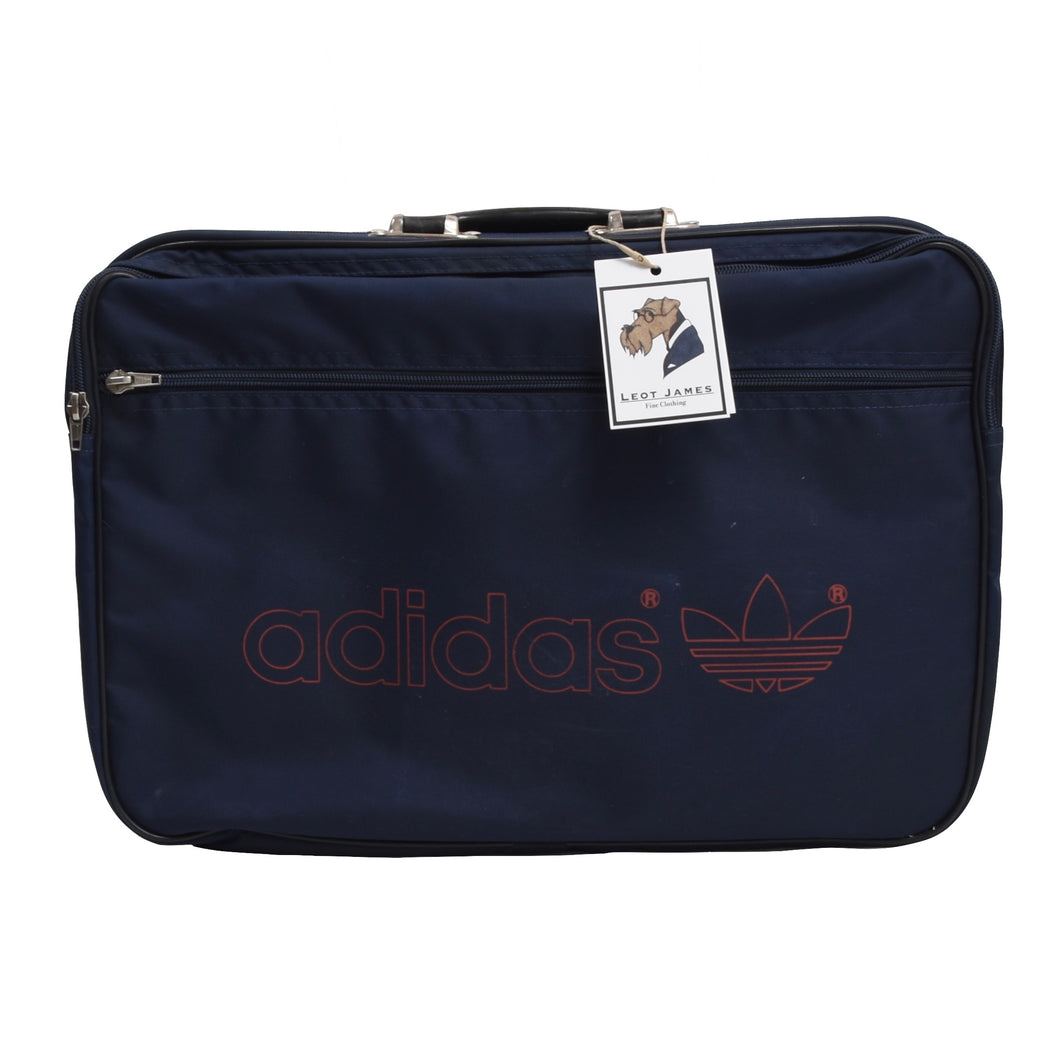 Vintage Adidas Briefcase/Bag - Navy