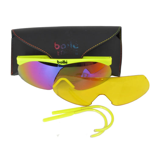 Bollé Edge II Interchangeable Sunglasses - Yellow