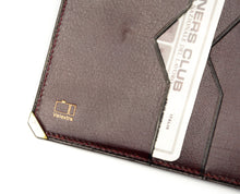 Load image into Gallery viewer, Valextra Milano Wallet/Billfold Document Holder - Burgundy