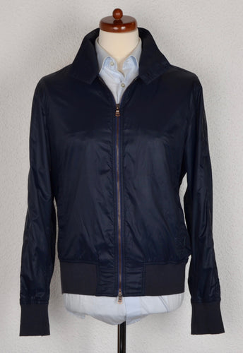 Façonnable Nylon Jacket Size M - Navy Blue