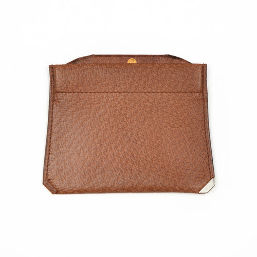 Valextra Milano Coin Wallet/Purse - Brown