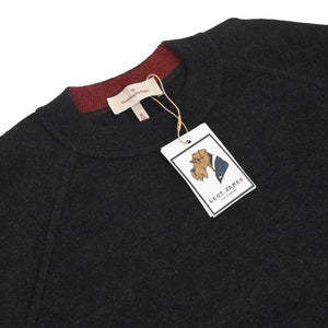 Ermenegildo Zegna Wool Sweater Size 54/XL - Charcoal