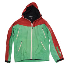 Load image into Gallery viewer, Maloja Moon Ride Jacket Size M - Green & Red