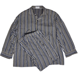 Novila Cotton Pyjamas Size ca. 54 - Striped
