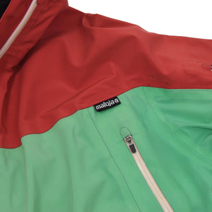 Maloja Moon Ride Jacket Size M - Green & Red