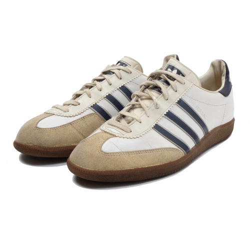 Vintage Adidas Universal Sneakers Made in Slovenia Size 44 - White/Navy