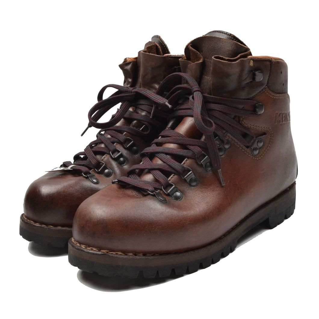 Classic Meindl Leather Hiking Boots Size 8 - Brown
