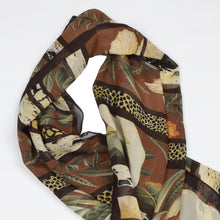 Load image into Gallery viewer, Salvatore Ferragamo Silk Scarf - Hibiskus