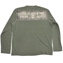Load image into Gallery viewer, 2007 Stone Island Denims Long Sleeved Shirt Size XXL- Green
