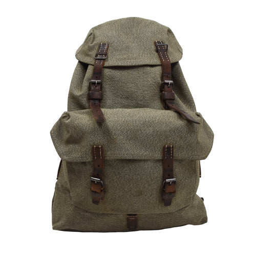 1954 Swiss Military Rucksack - Salt & Pepper