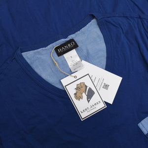 Hanro of Switzerland Pyjamas Size M - Blue