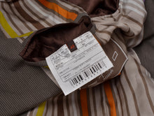 Load image into Gallery viewer, Etro Milano Cotton Suit Size 48 - Brown Stripe
