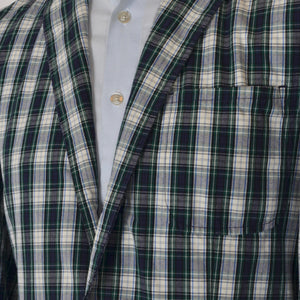 Polo Ralph Lauren Madras Cotton Jacket Size 40 - Plaid