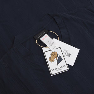 Hanro of Switzerland Pyjamas Size M - Navy/Black
