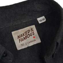 Load image into Gallery viewer, Naked & Famous Shirts x2 Size XS - Grey