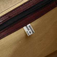 Load image into Gallery viewer, Vintage Leather Duffle Bag - Burgundy