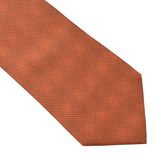 Hermès Paris Tie 5222 IA - Orange