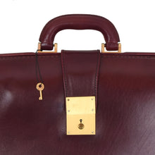 Load image into Gallery viewer, Classic Leather Briefcase - Burgundy