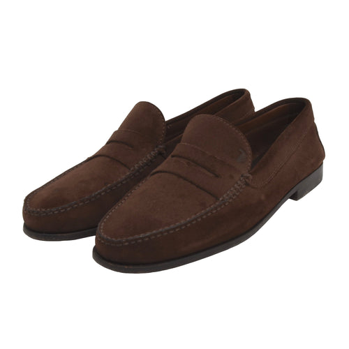 Tod's Suede Loafers Size 9.5 - Brown
