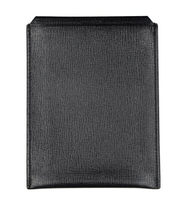 Valextra Milano Vertical Document/Receipt Holder - Black