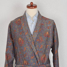 Load image into Gallery viewer, Vintage Robson Cotton Robe Sie 56 - Paisley