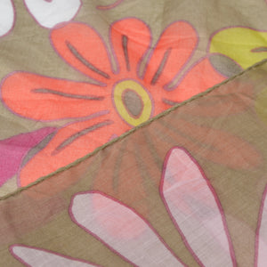 Hugo Boss Cotton Scarf  - Flower Print