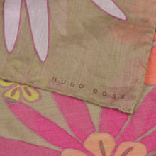 Load image into Gallery viewer, Hugo Boss Cotton Scarf  - Flower Print