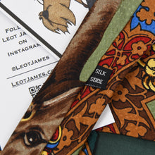 Load image into Gallery viewer, Krottmayer Graz Equestrian Themed Silk Tie